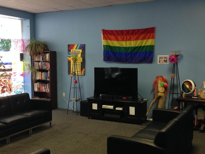 Binghamton's Identity center, where LeMay works, is a gathering space for LGBTQ youth.