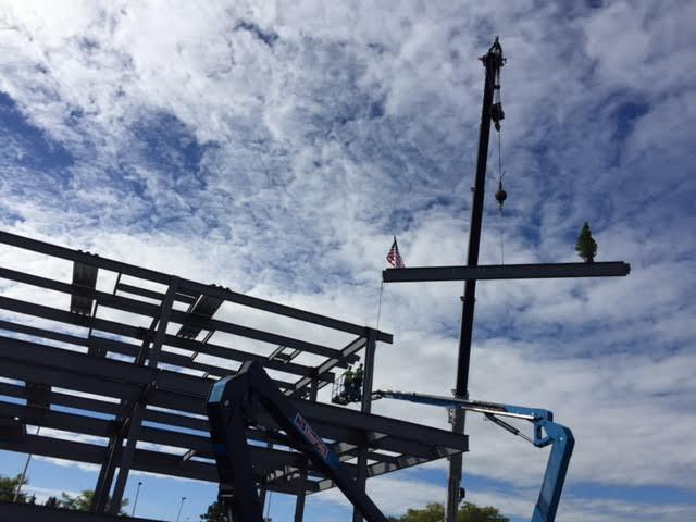 Construction of Upstate Hospital's new Cord Blood Bank is underway.