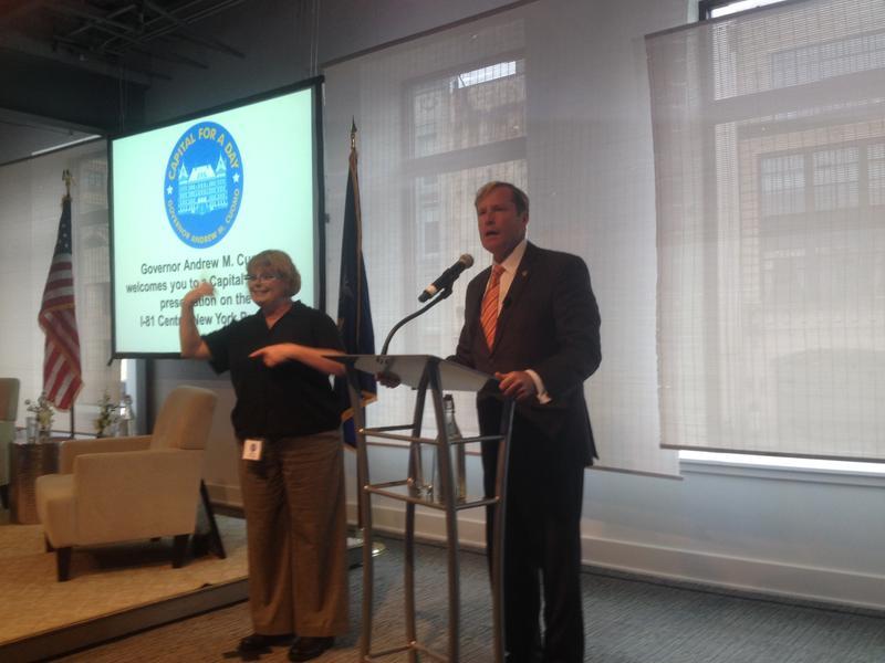 New York State Department of Transportation Commissioner Matt Driscoll.