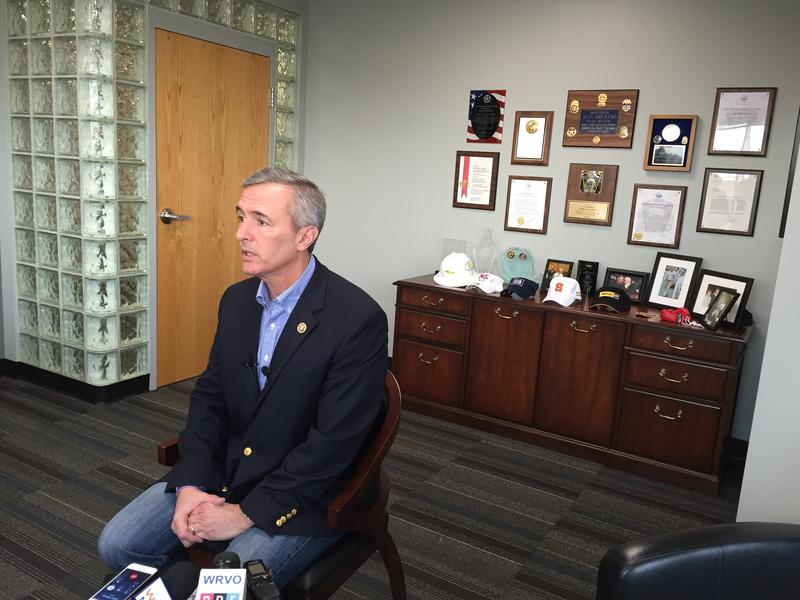 At a press conference in Syracuse, Rep. John Katko (R-Camillus) urged the U.S. to improve information sharing with international allies about ISIS and beef up the country's airport security.