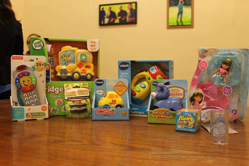 Examples of some of the toys which are potentially hazardous.