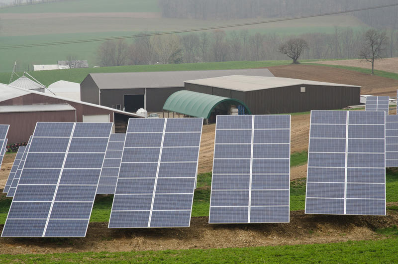Lewis County officials plan to fill a nine-acre parcel of land with solar panels.