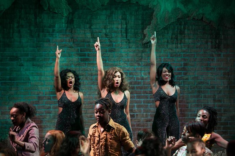 """Dreamgirls"" at the Redhouse Arts Center"