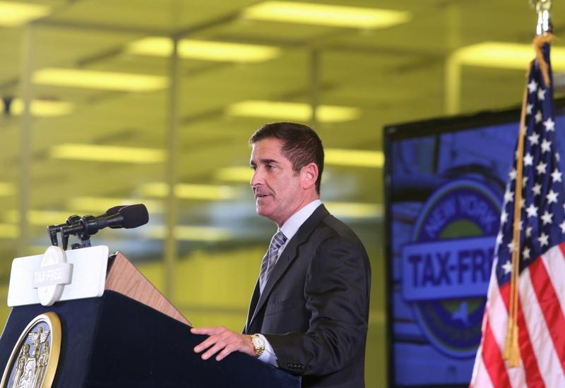 Sen. Jeff Klein at the Tax-Free NY unveiling in 2013.