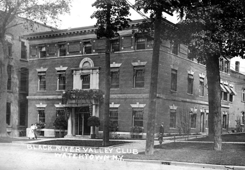 The Black River Valley Club formed in 1867, but moved to this building in Watertown's Public Square in 1905.