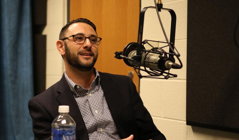 Montgomery College professor Vincent Intondi