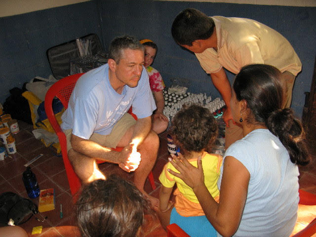 Dr. Joseph Domachowske will direct the Global Maternal Child and Pediatric Health Program. The pediatrician has extensive work on medical missions overseas. This photo shows him on a medical mission to El Salvador in 2013.