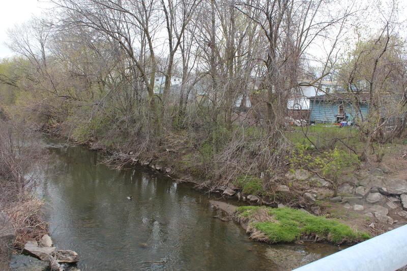 Ley Creek in Salina.