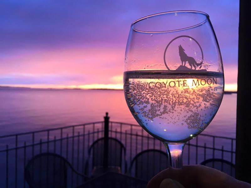 Coyote Moon Vineyards is named New York Winery of the Year.