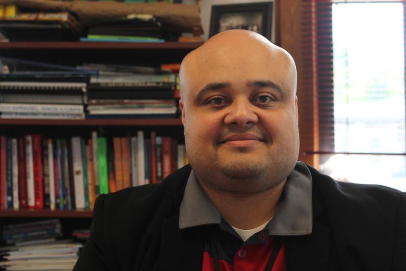 Delaware Primary Principal Eli Hernandez.