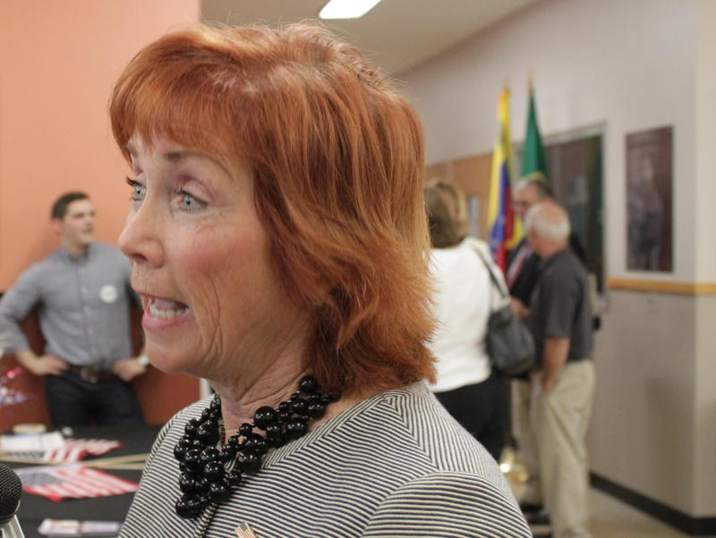 Kim Myers of Broome County (D) is running for Congress in the 22nd District.