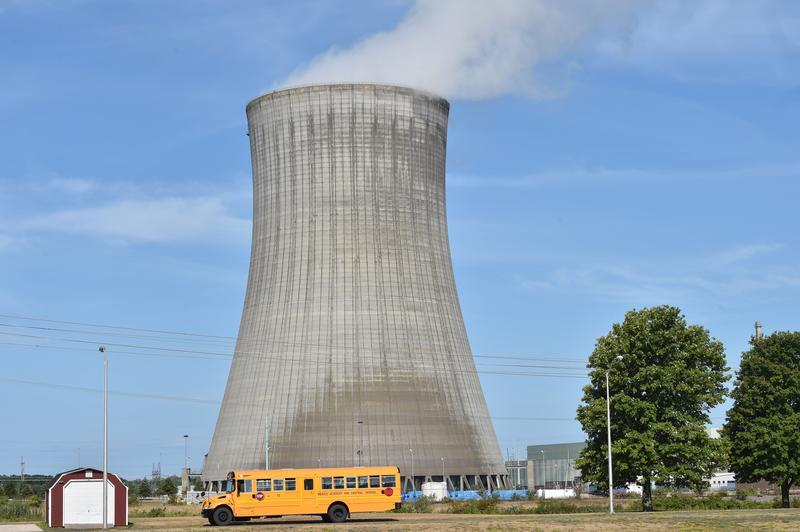 The FitzPatrick Nuclear Power Plant in Oswego County is on the brink of financial ruin because of competition from cheap natural gas and oil. Proposed nuclear subsidies may keep it in operation.