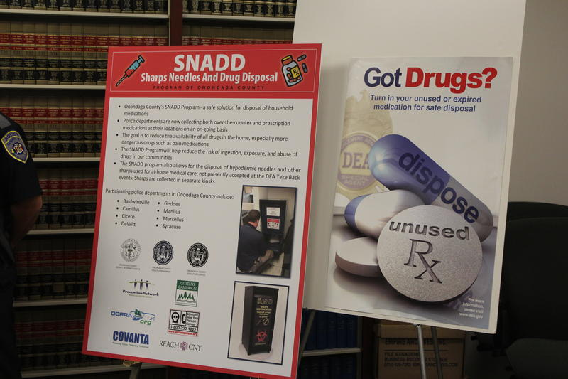 Information on the Sharps, Needles and Drug Disposal program.