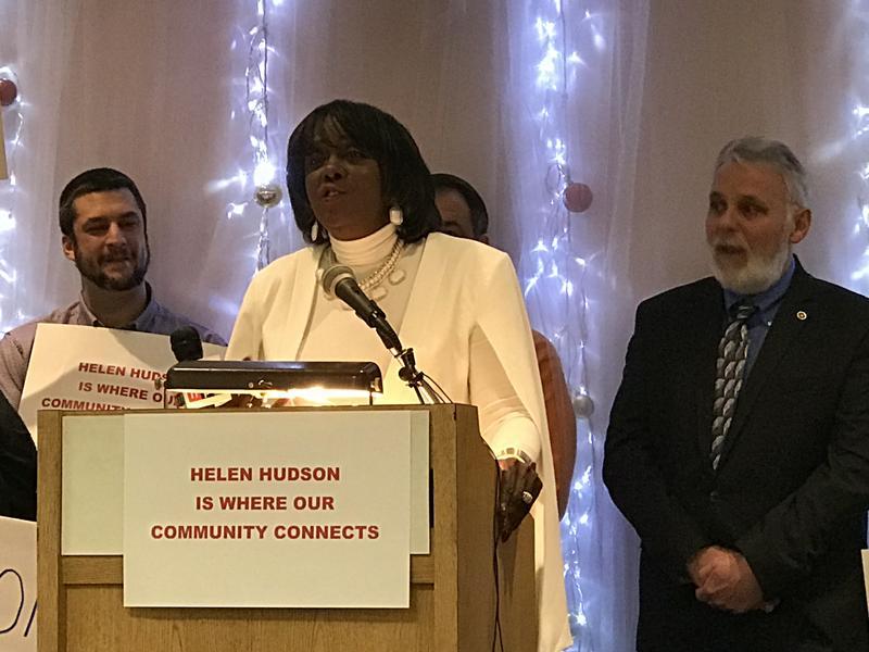 Syracuse Common Councilor Helen Hudson announced her run for council president Tuesday