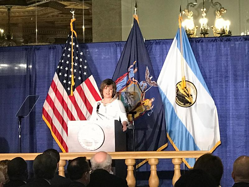 Syracuse Mayor Stephanie Miner delivered her final State of the City address Thursday evening.