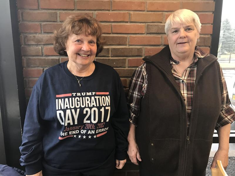Utica residents Perry Onderdonk and Fran Henry are planning to attend Donald Trump's inauguration.