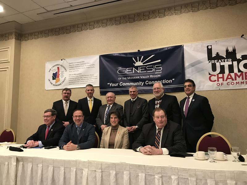 Mohawk Valley elected officials, seen here at a legislative forum in January, say they are pleased with what's included for their region in the recently approved state budget.
