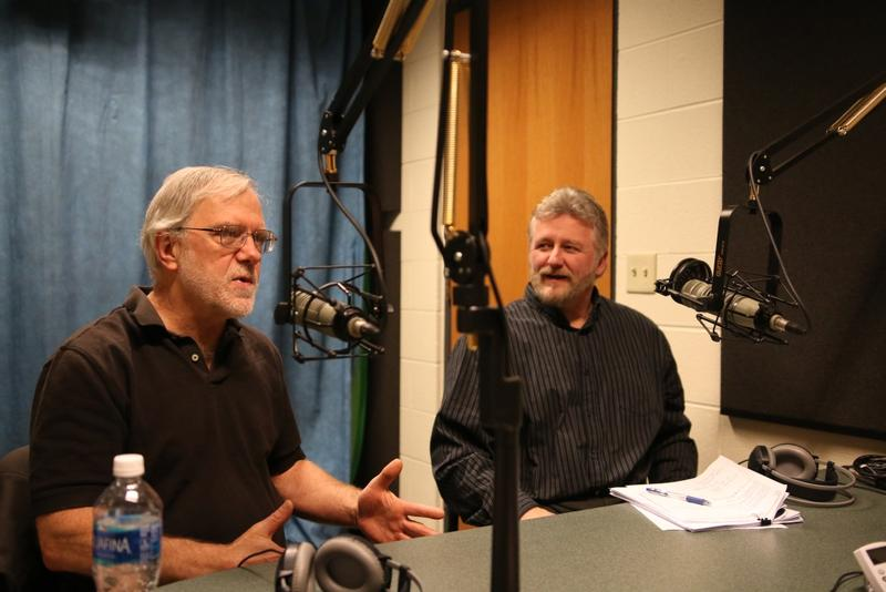 Howie Hawkins (l) and Rob Bick (r) on the Campbell Conversations