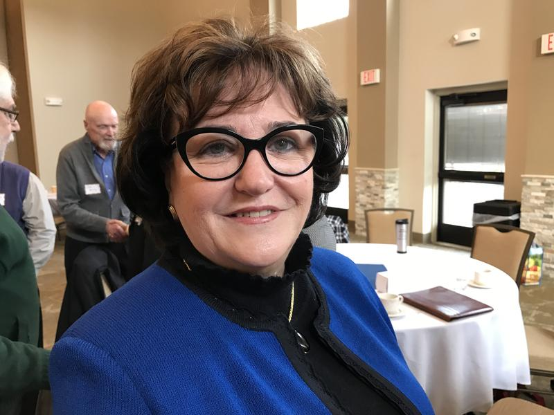 New York State Education Commissioner MaryEllen Elia in Syracuse Thursday.