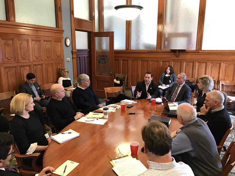 The first meeting of the special committee organized by the Onondaga County Legislature to look at sharing services