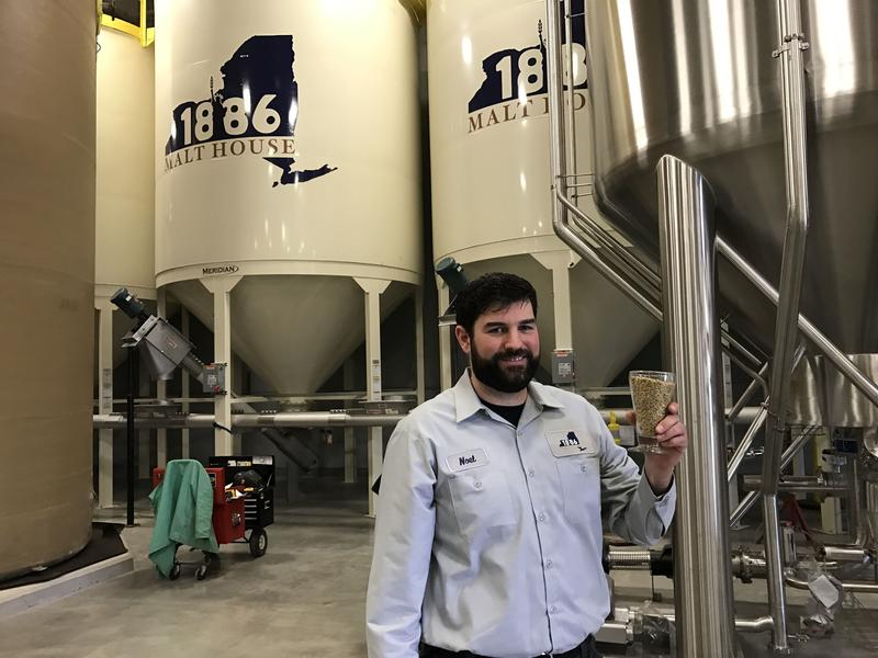 Noel McCarthy is founder and operations manager of the new 1886 Malt House in Fulton, which will process barley for craft breweries.