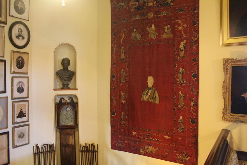 Inside the Seward House Museum.