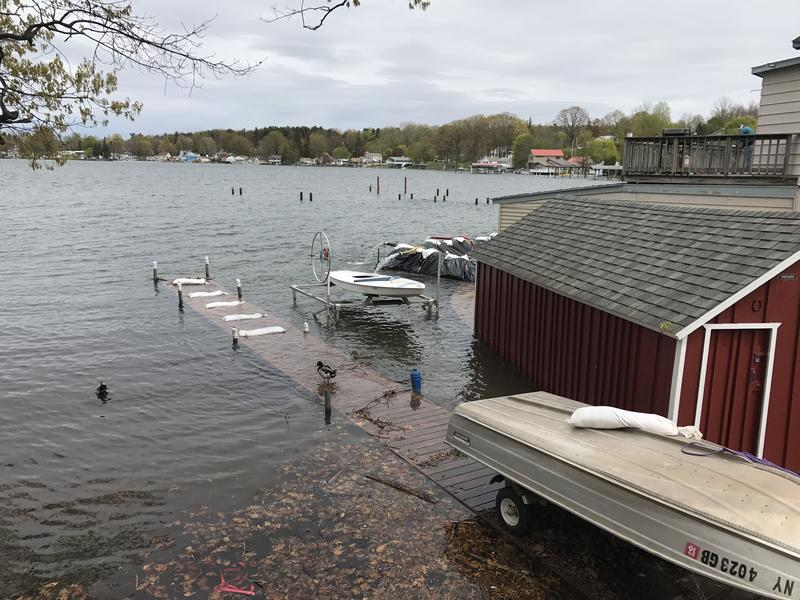 Residents cleaning up their properties from this year's high precipitation are being urged to take safety precautions because of potential infectious organisms in the flood water.