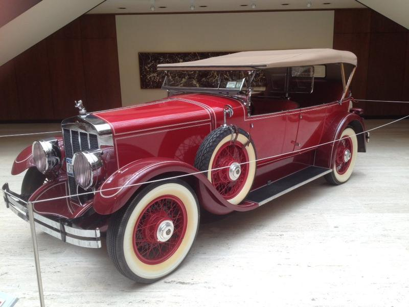 A Franklin automobile made in Syracuse.
