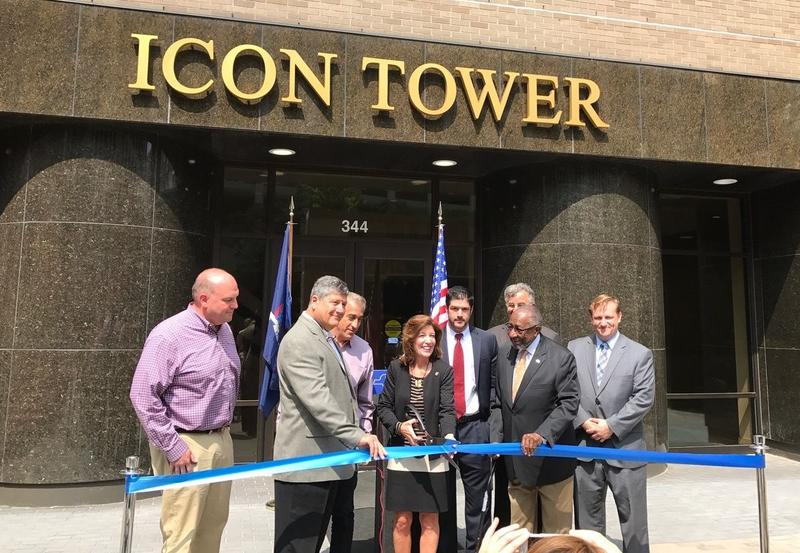 Lt. Gov. Kathy Hochul came to Syracuse for the ribbon cutting last week.
