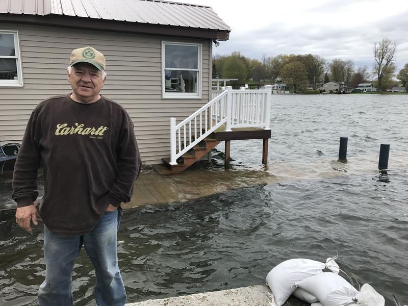 New Yorkers like Fair Haven resident Tom Kirsch are dealing with property damage from this year's flooding along Lake Ontario.