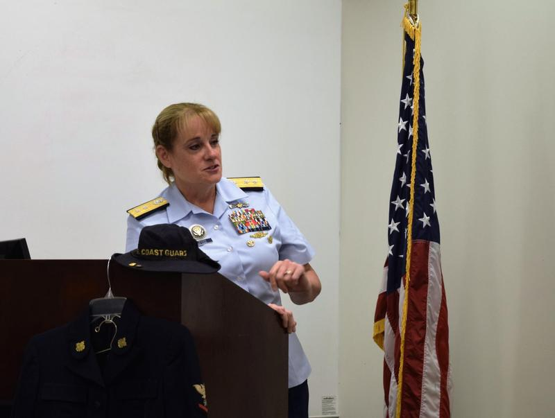 Retiring Rear Adm. June Ryan