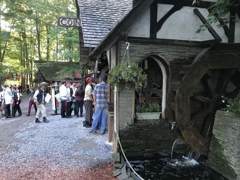 The Sterling Renaissance Festival is spread out on a 35-acre forest in Oswego County.