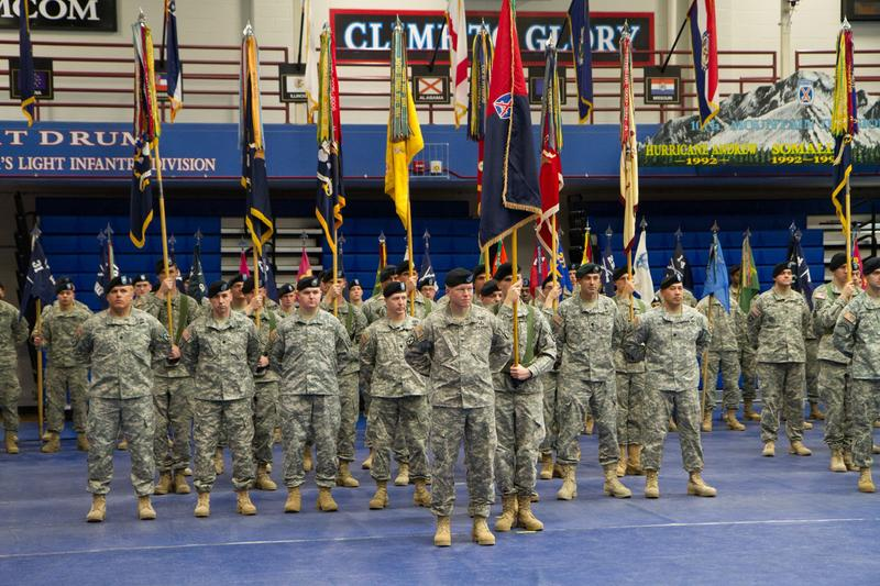 Fort Drum held a ceremony in December of 2014 to commemorate the 10th Mountain Division's 13-year involvement in Afghanistan.
