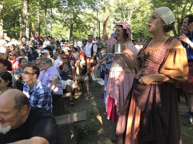 The Sterling Renaissance Festival is one of the few of its kind in the country to employ actors, who are responsible for interacting with visitors.