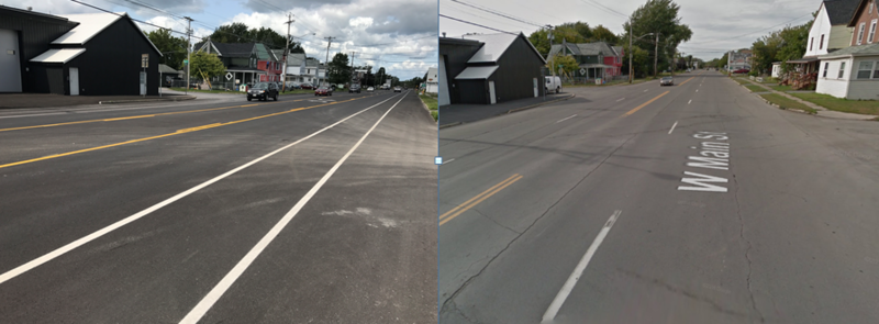 Watertown is updating some of its roads to make more lanes for bicyclists and pedestrians.