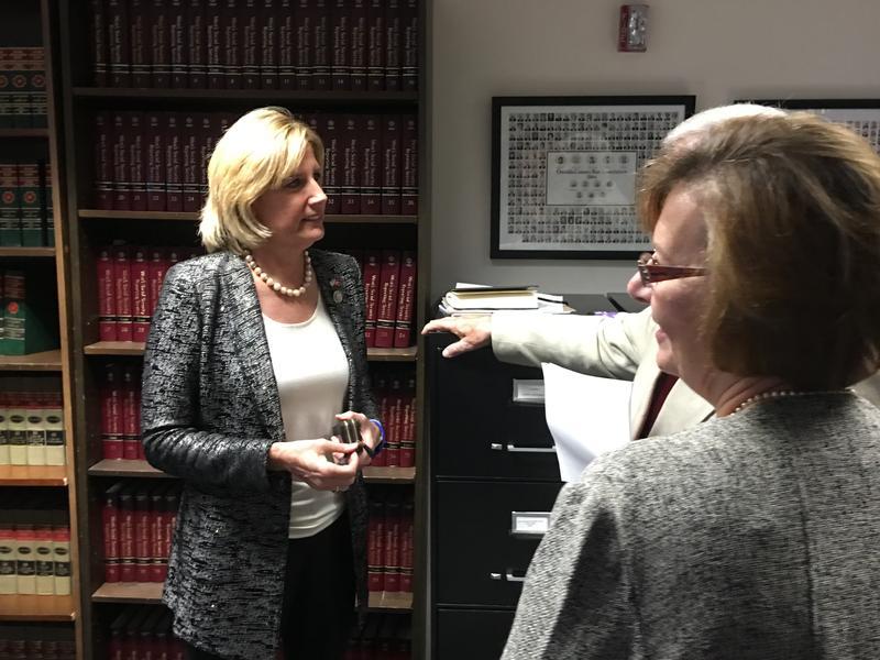 Rep. Claudia Tenney in Utica.