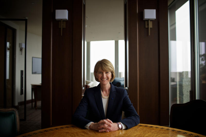 SUNY Chancellor Kristina Johnson