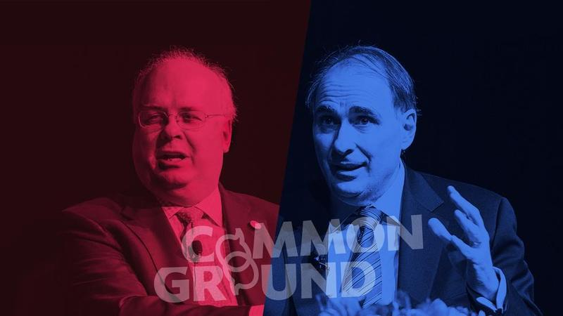 Karl Rove, left, and David Axelrod will discuss politics at Hamilton College.