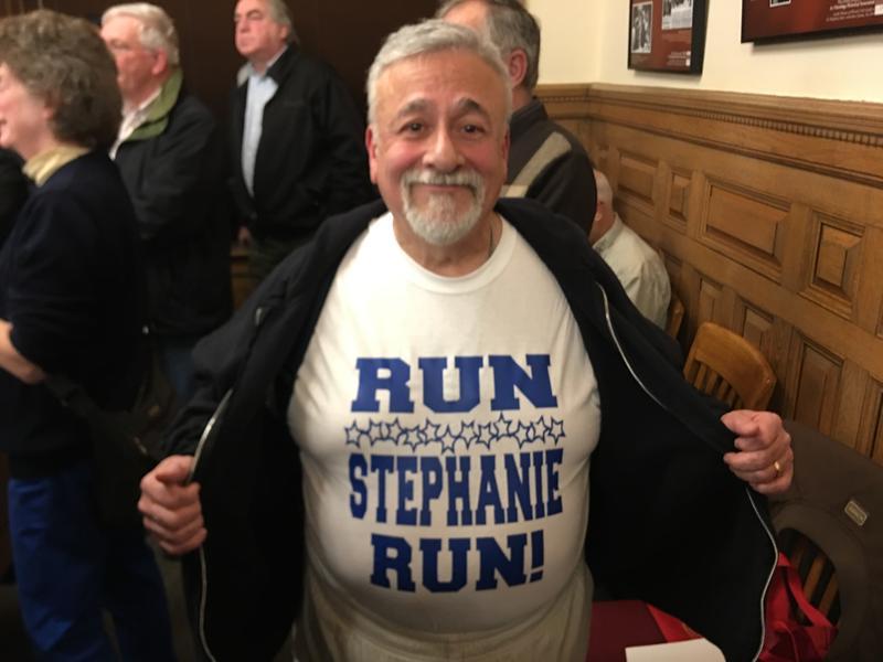 Dr. Raúl Huerta of Fayetteville wants Syracuse Mayor Stephanie Miner to run against Rep. John Katko.