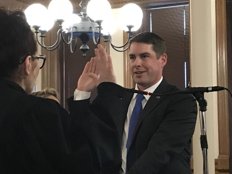 Ben Walsh was sworn in Sunday as Syracuse's 54th mayor