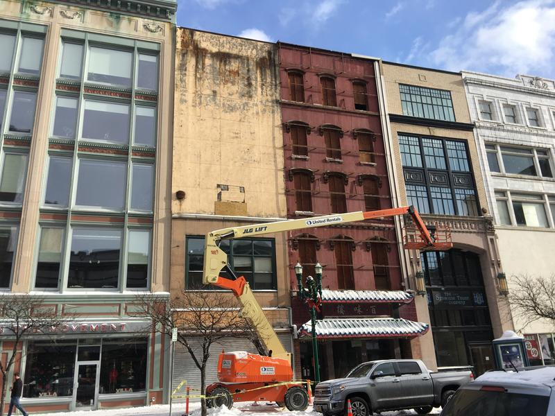 The Whitney Lofts project would redevelop two historic buildings in downtown Syracuse.
