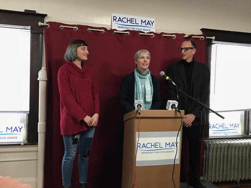 Democrat Rachel May is challenging State Sen. Dave Valesky (D-Oneida) in the 53rd district.