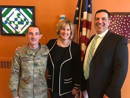 Rep. Claudia Tenney (R-New Hartford) gave the salary she received during the federal government shutdown to organizations in her district, like the Central New York Veteran's Outreach Center in Utica.