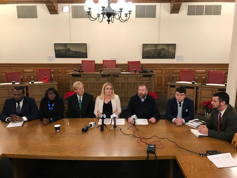 Syracuse Common Councilors talk about the decision to join a statewide initiative raising awareness about substance abuse services.