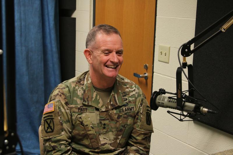 Major General Walter Piatt is Commanding General of Fort Drum