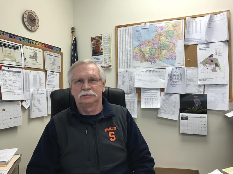 Town of Oswego Supervisor Richard Kaulfuss