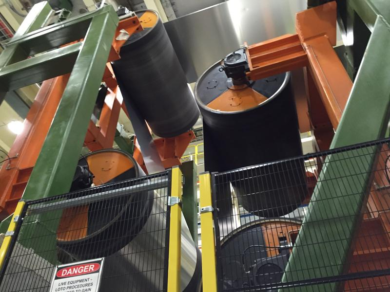 The Novelis Aluminum plant in Oswego County supplies the metal for automobiles and beverage cans.