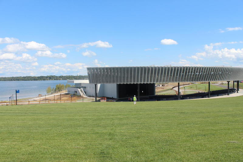 The Lakeview Amphitheater after it was completed in 2015.