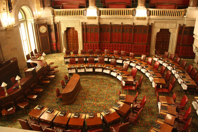 New York state Senate chambers