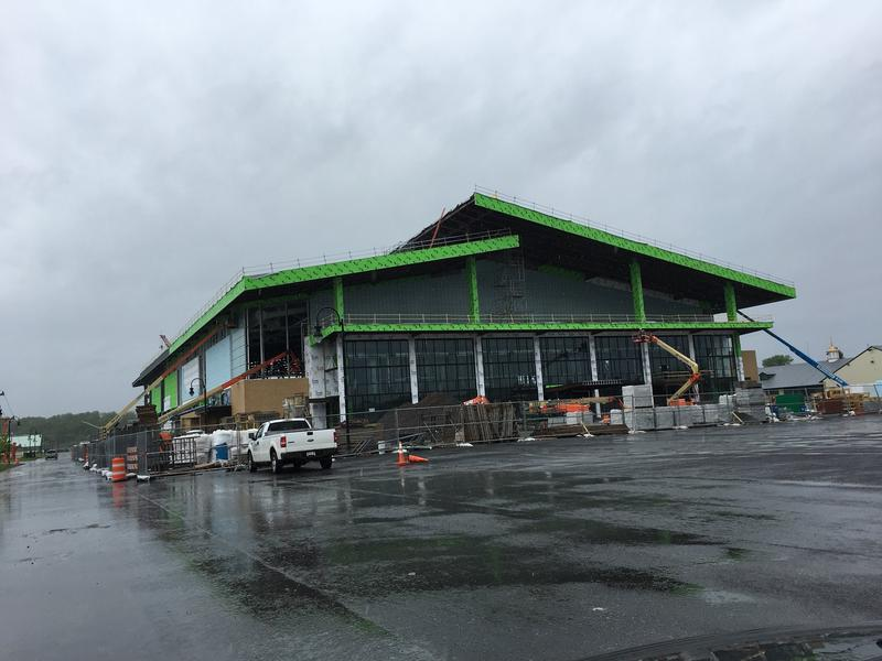 The new expo center at the fairgrounds.